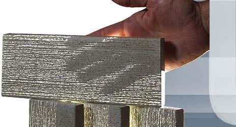 Рисунок 1. Прозрачный бетон