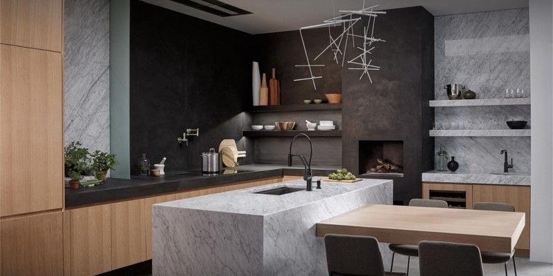 Современная кухня Solna от Brizo
