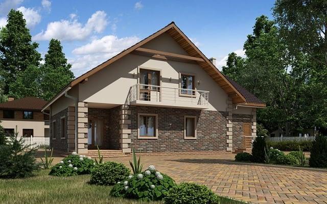 Проект дома fedora