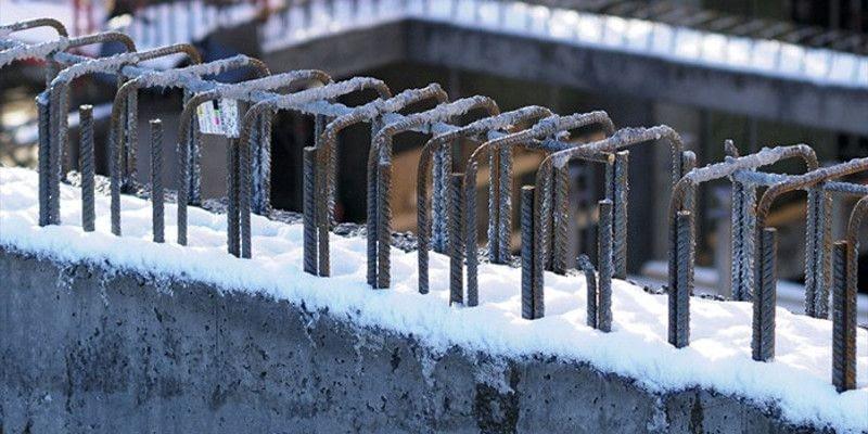 Замораживание бетона расход воды для затворения цементного раствора